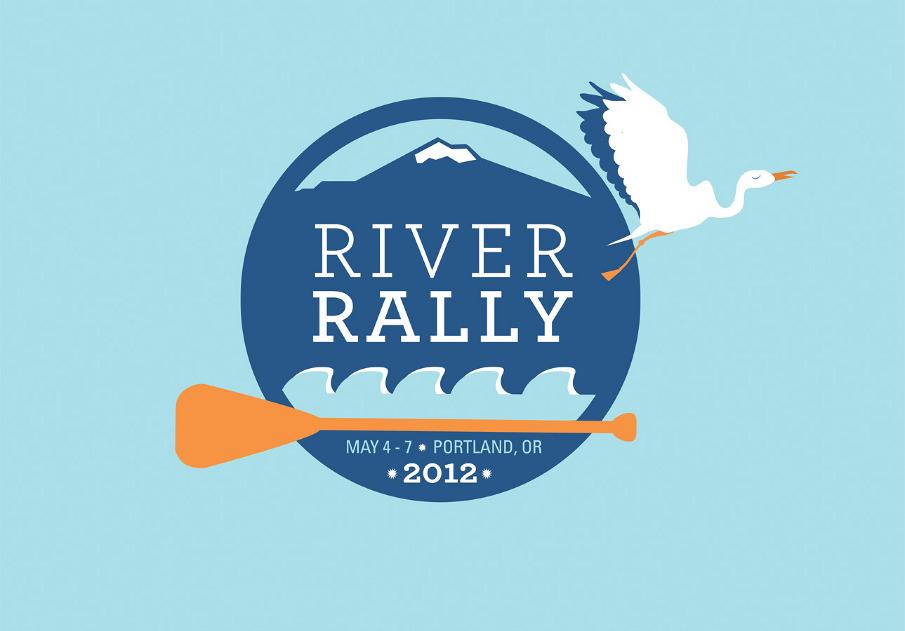 Rally Logo River Rally Logo And Tshirt