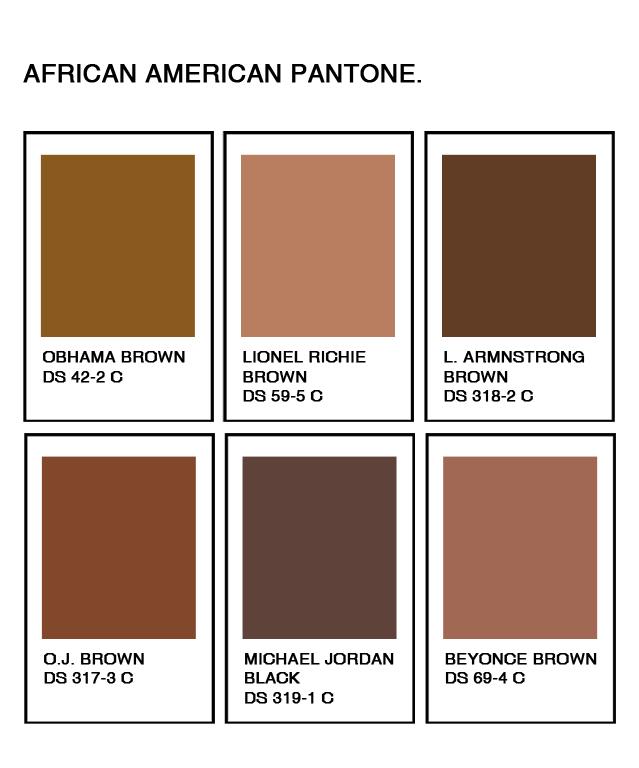PANTONE - hicimosesto  Pantone Color Chart Brown